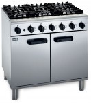 6 gas cooker