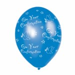 confirmation ballon blue